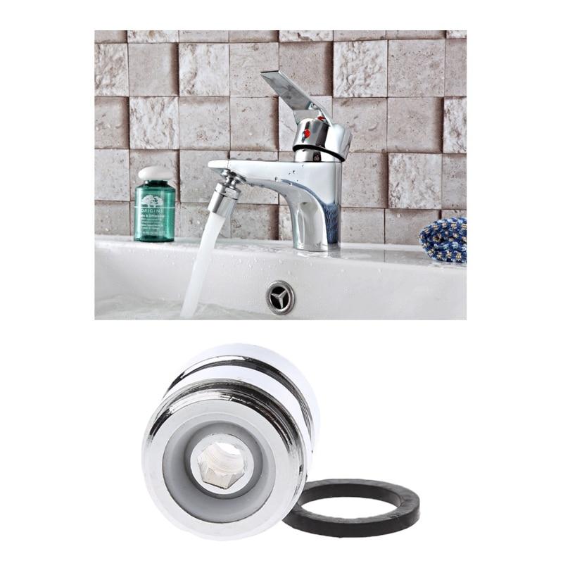 Swivel Metal Adaptor For Water Kitchen Faucet Tap Aerator M22x22mm Female X Male JAN07 Dropship