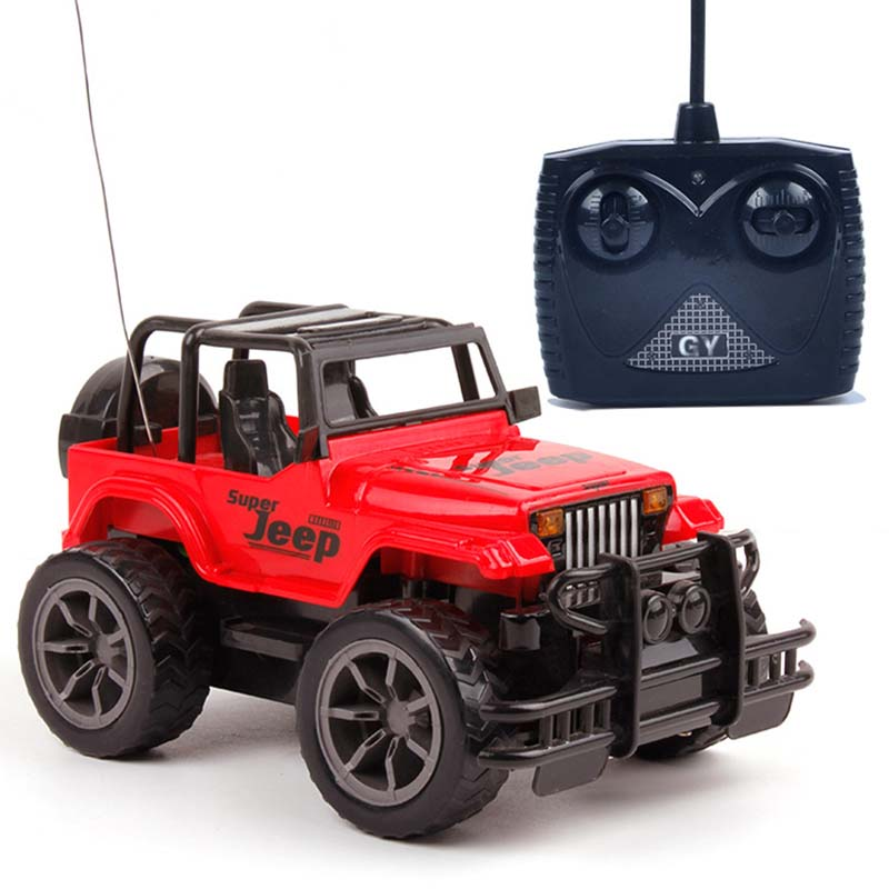 Red/Yellow Color 1:24 RC Car Super Big Remote Control Car Road Vehicle Jeeps off-road Vehicle 1/16 Radio Control Car Electric