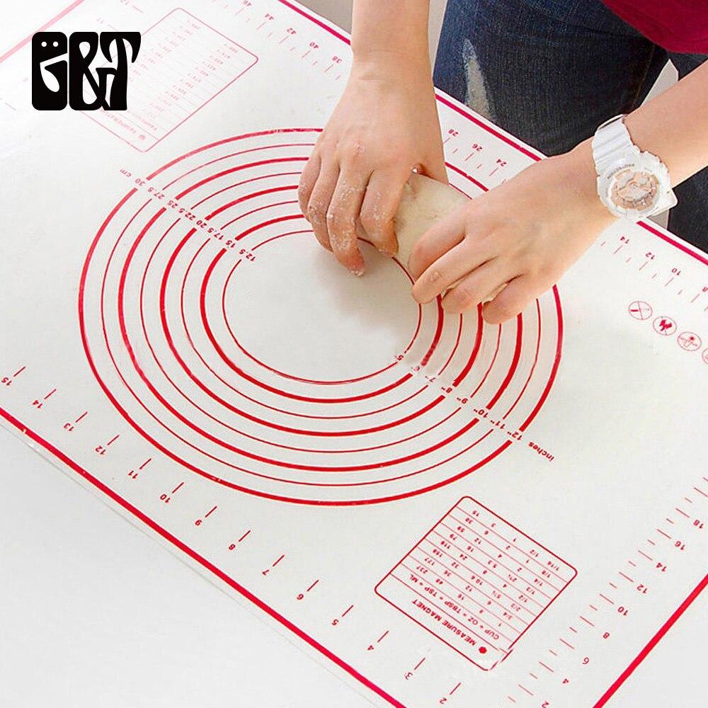 G & T 60*40 cm estera para hornear de silicona hoja no Stick laminación masa de Pizza masa de hornear camisas de la cocina, cocina Gadgets