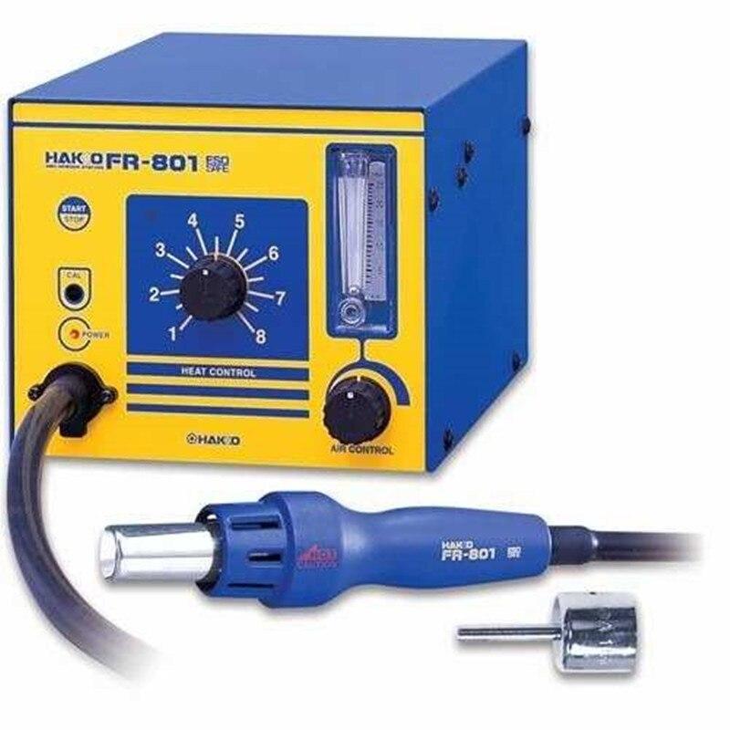 HAKKO FR-801 ESD Rework Desoldering Station Solder with Heat Hot air Gun BGA Hot Air Nozzles Soldering Welding stations  цены