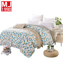 2018 New Home Textile 100% Cotton Lovely Quilt Cover Europe Family Size Duvet Cover High Quality 1pcs Bedding Set for Home Bed(China)