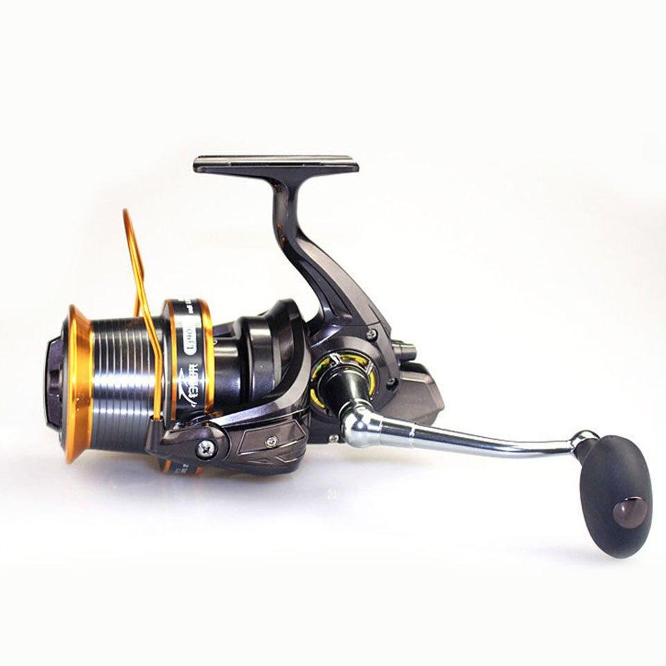 ФОТО Super 13BB LJ9000 Reel 4.1:1 Quality Big Game Sea Fishing Reel Metal Saltwater Fish Wheel
