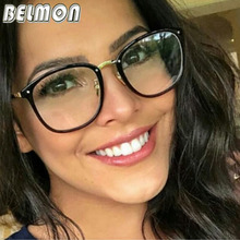 Belmon Optical Eyeglasses Women Fashion Prescription Spectacles Trendy Accessories Glasses Frames Clear Lens Eyewear RS816