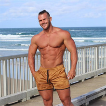 LISER New Men Fashion Classic Solid Mesh Shorts High Quality