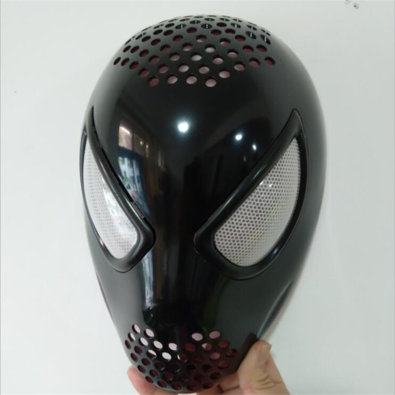Amazing Spider Man Black Faceshell With Lenses Lens Spiderman Cosplay Mask