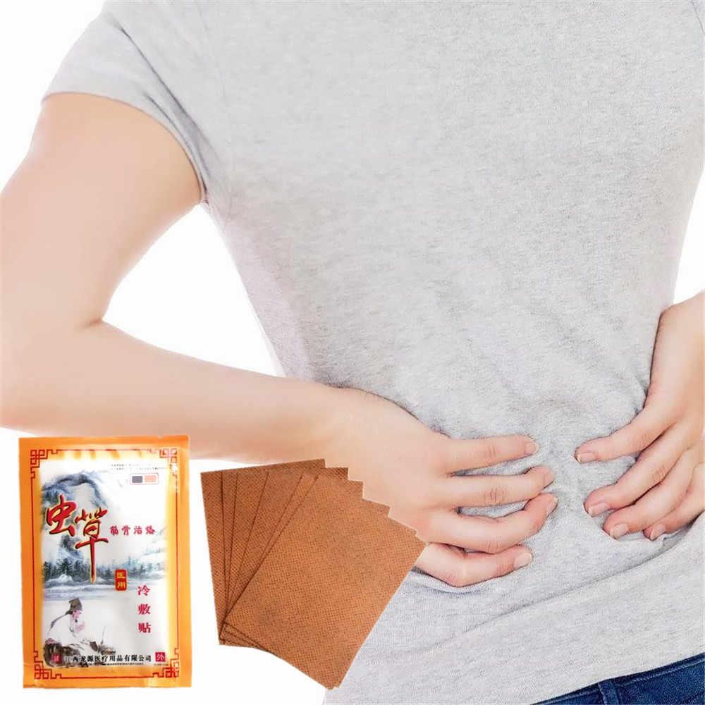 8 pièces/sac Detumescence et soulagement de la douleur plâtre rhumatisme douleurs articulaires patch anti-douleur plâtre médical Cordycep huiles essentielles