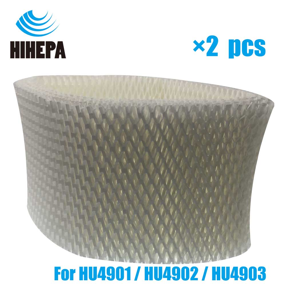 2pcs HU4101 Replacement Humidifier Wicking Filters for Philips HU4901 HU4902 HU4903 Humidifier Parts цена 2017