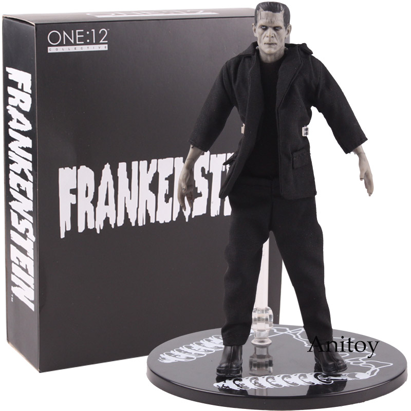 Action Figure Frankenstein Mezco Toys Mary Shelleys Frankenstein One:12 Collective BJD PVC Figure Collectible Model ToysAction & Toy Figures   -