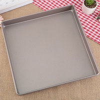 1pcs 11inch Square Cake Pans Nonstick Golden Bread Baking Pans Carbon Steel Pizza Bakware Bread Loaf Baking Dishes