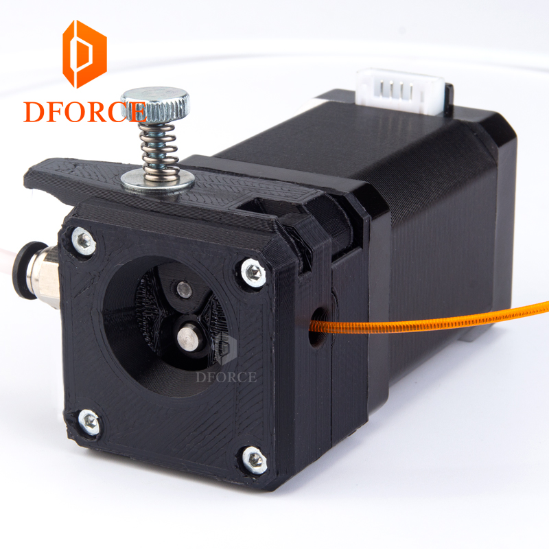 DFORCE Drivegear kit dual drive gear extruder kit Cloned Btech upgrade for Prusa i3 3d printer gear Mini Bowden Extruder bowden steve newbury kate upgrade [b1] sb ebook