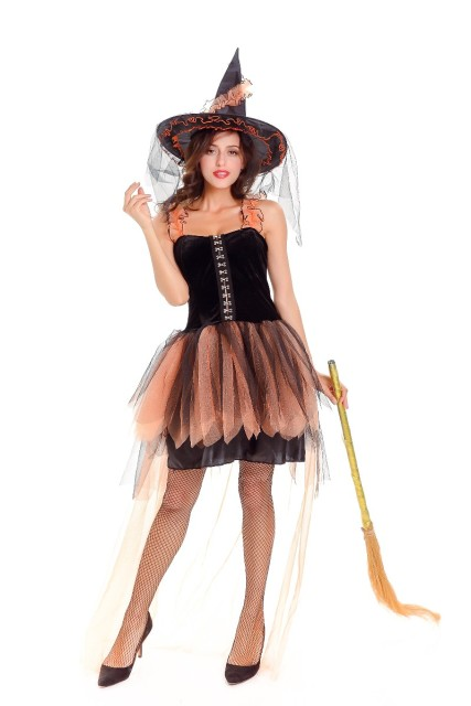 Hot Sale Adult Witch Halloween Fancy Dress Women Sexy Witch Costume Deluxe Adult Womens Magic Moment  sc 1 st  AliExpress.com & Hot Sale Adult Witch Halloween Fancy Dress Women Sexy Witch Costume ...