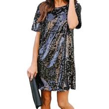 Сексуальное мини-платье-карандаш с круглым вырезом и коротким рукавом, свободное повседневное винтажное платье Vestidos De Festa, летние платья WS5428U