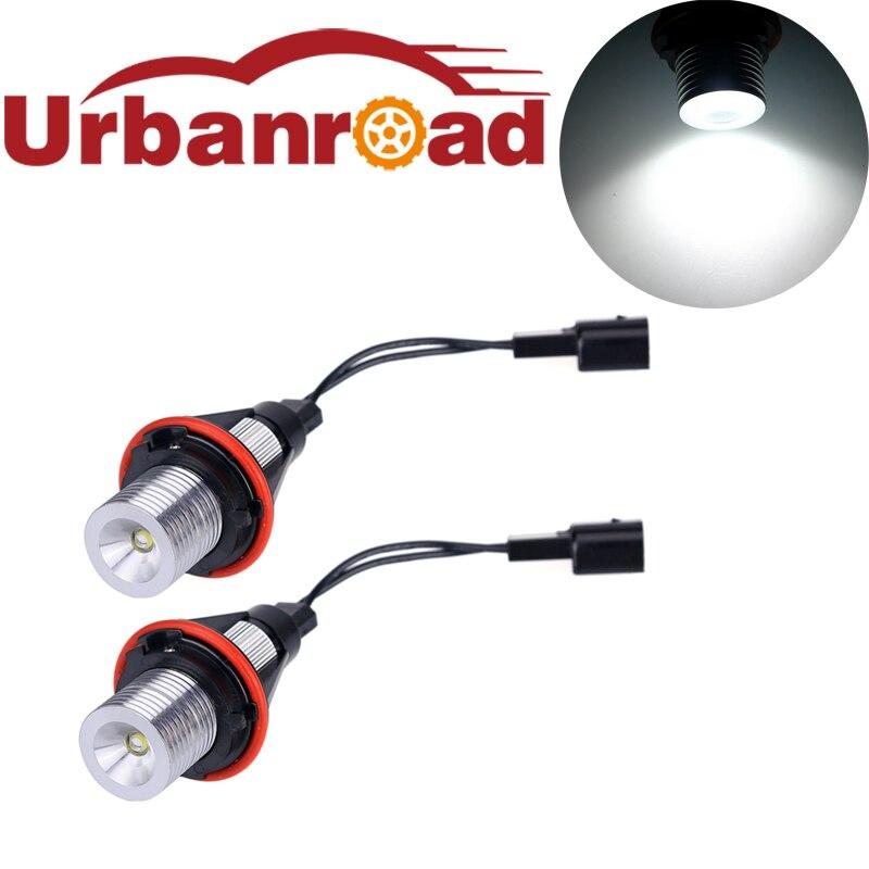 2pcs Led 12v Chip Angel Eyes Led Marker Light Lamp Bulb Replacement For BMW E39 E60 E61 E39 E63 E64 E65 E66 E83 X5 BMW