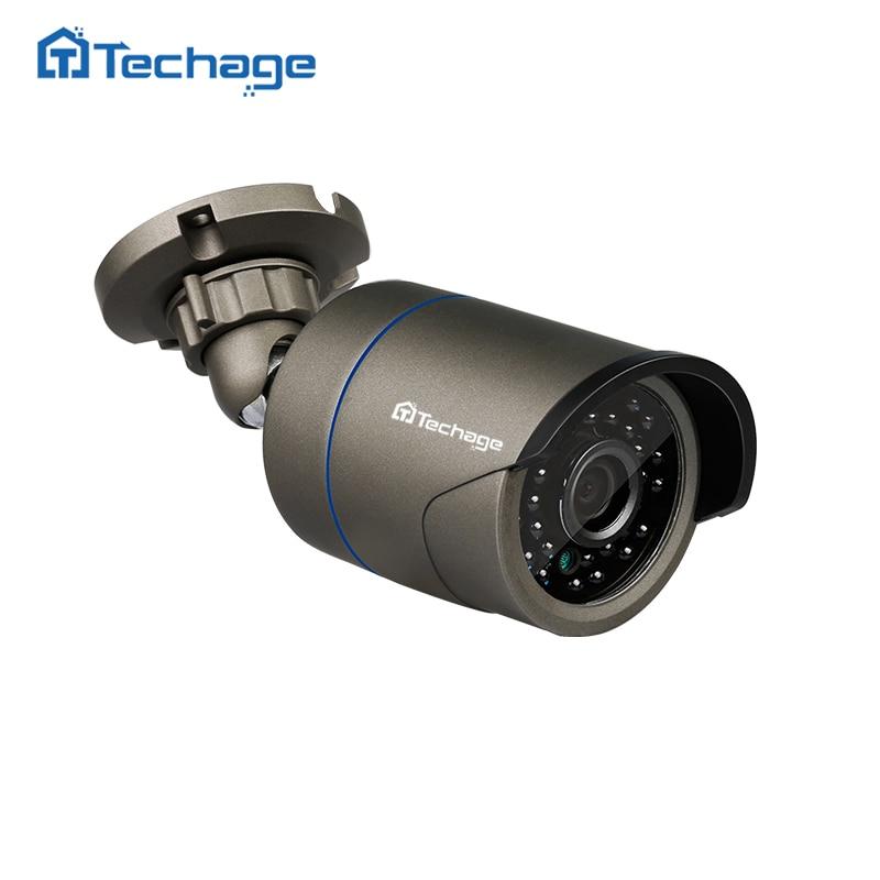Techage 720P 960P 1080P HD CCTV IP Camera Indoor Outdoor IP66 Waterproof 2.0MP P2P Onvif Surveillance Home Security IP Camera