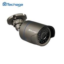 Techage Full HD 720 P 960 P 1080 P CCTV IP Камера открытый Водонепроницаемый 2MP безопасности Камера P2P Onvif ИК ночное видение наблюдения IPC