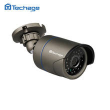 Techage FULL HD 720P 960P 1080P Metal CCTV IP Camera Outdoor IP66 Waterproof P2P Onvif Email Alert Surveillance Security Camera