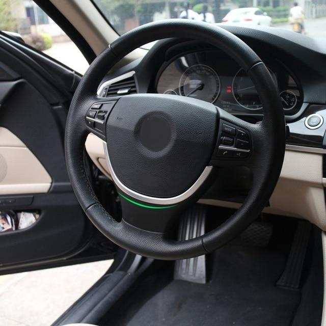 CITALL New Chrome Steering Wheel Cover Trim U Shape For BMW - Bmw 525i 2013