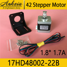 1PCS Series 42 Stepper Motor Stepping Motor 17HD48002-22B 40mm 1.7A 1.8 Degree 560mN.m 2 Phase For 3D Printer Motor CNC Cutter