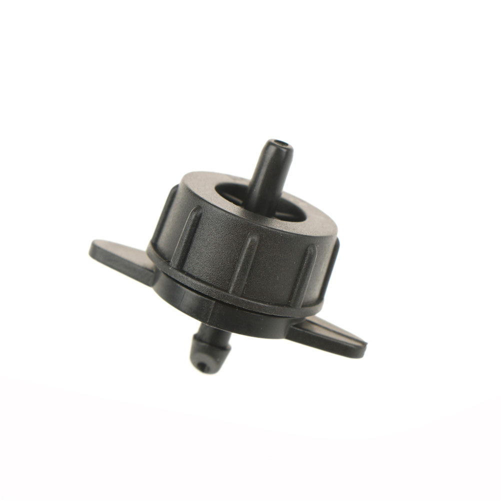 100 Pcs Steady Flow 4//7mm Interfaces and 8l Flow Applies To Member Farms Dripper