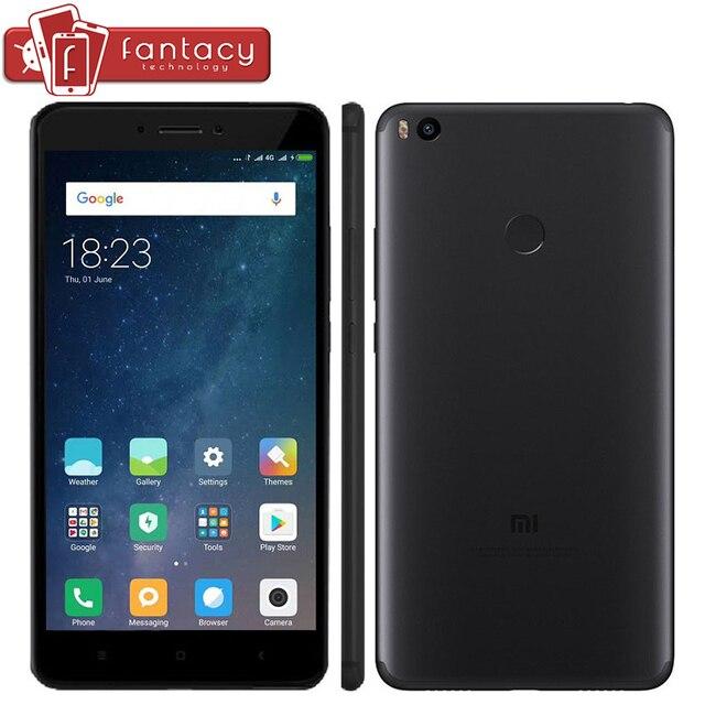 """Neue Original Xiaomi Mi Max 2 Max2 5300 mAh Snapdragon 625 Octa-core 4 GB 64 GB Smartphone 6,44 """"1080 P 12MP Fingerprint ID MIUI 8"""