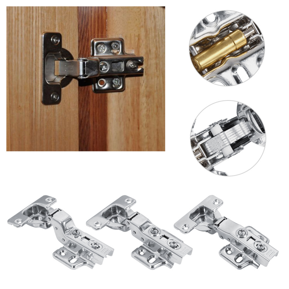 3 types 304 stainless steel hydraulic hinge for cabinet cupboard door hinges furniture
