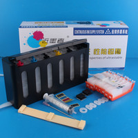 Continuous Ink Supply System Universal 6Color CISS kit with accessaries ink tank for CANON PIXMA MG6370 MG7170 IP8770 750 751