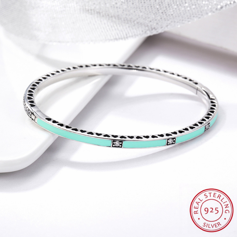 925 Sterling Silver Jewelry bracelet & Bangle fashion bracelet top quality wholesale and wedding jewelry,Green green top