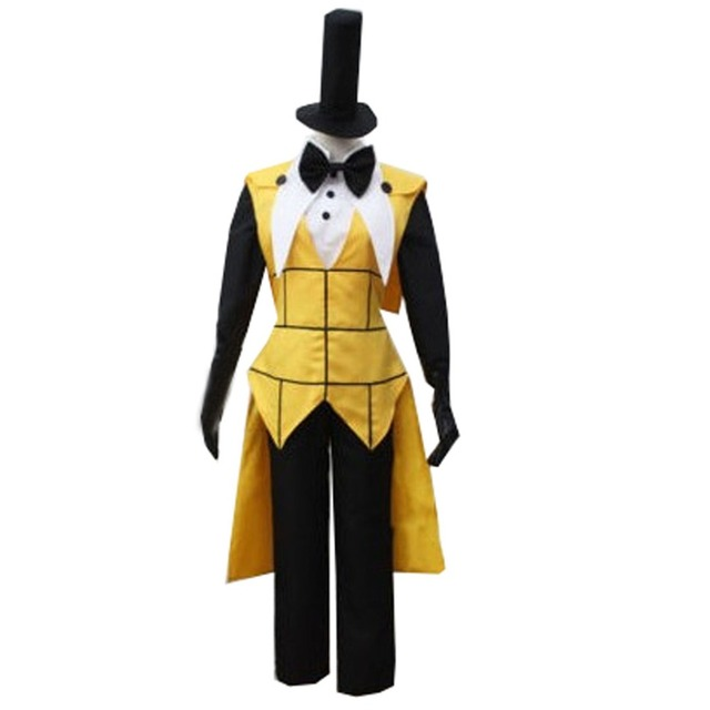 2018 gravity falls bill cipher cosplay costume mystery attack outfit