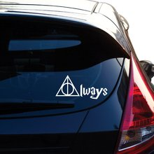Always Harry Potter Decal Sticker for Car Window, Laptop, Motorcycle, Walls, Mirror and More borderlands who decal sticker for car window laptop motorcycle walls mirror and more car sticker car door protector