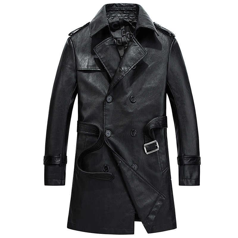 9e3d43df Detalle Comentarios Preguntas sobre Invierno PU chaqueta de cuero ...