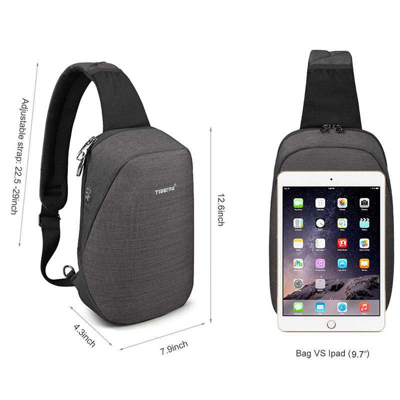 Moda masculina masculina sacos casuais splashproof sling saco 9.7 polegada crossbody sacos para mulheres mensageiro preto cinza bolsa de ombro
