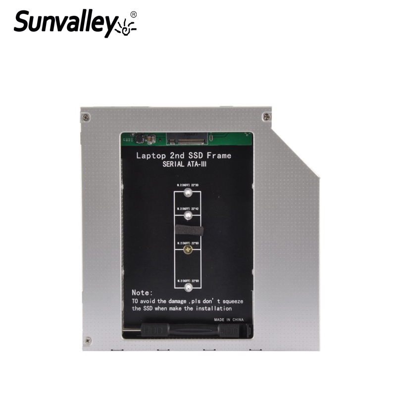 Sunvalley 12.7mm 2nd HDD Caddy 2.5