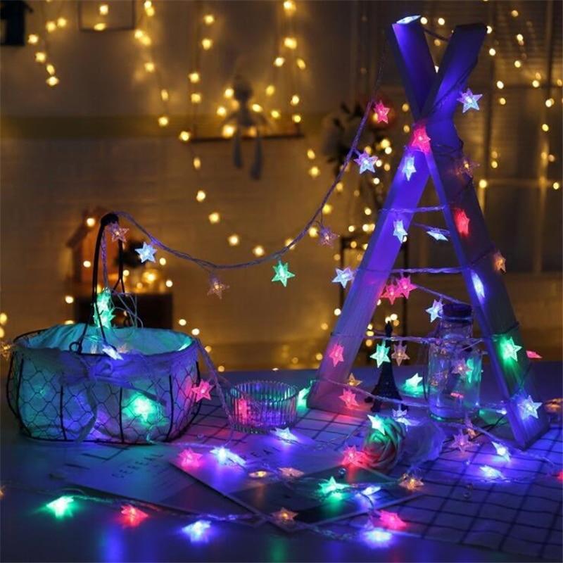 Fairy Garland - LED Stars String Light Chain 1