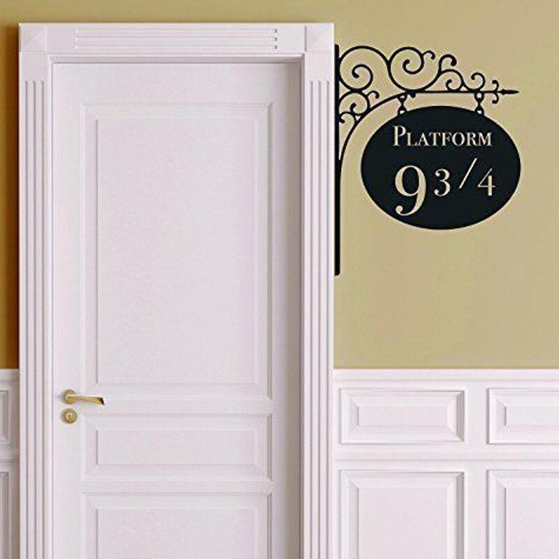 Creative plate forme 9 3 4 harry potter porte d cor - Sortilege ouverture de porte harry potter ...