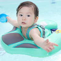 Baby Swimming Ring Inflatable Infant Armpit Floating Baby Swimming Pool Accessories Pool Toy for Bathtub and Swim Trainer