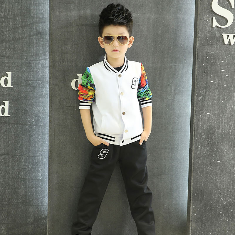 Adults Primary School Uniforms Teenage Kids outwear clothing sports suit boys girls baseball tracksuit outfits