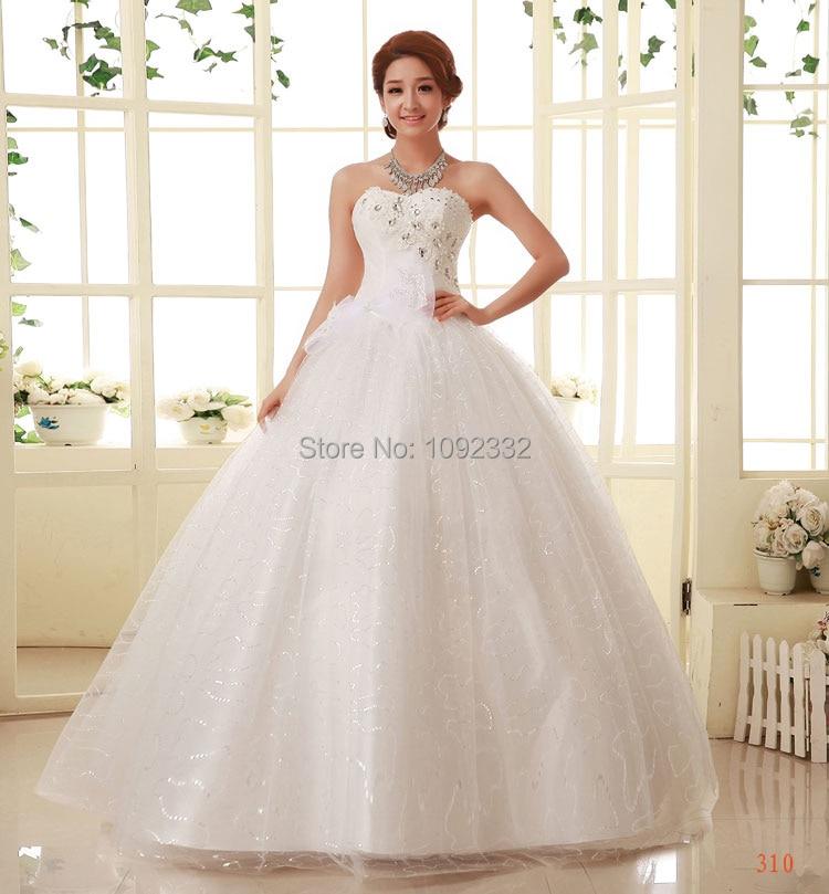 Z 2016 New Stock Bridal Gown Plus Size Women Wedding Dress
