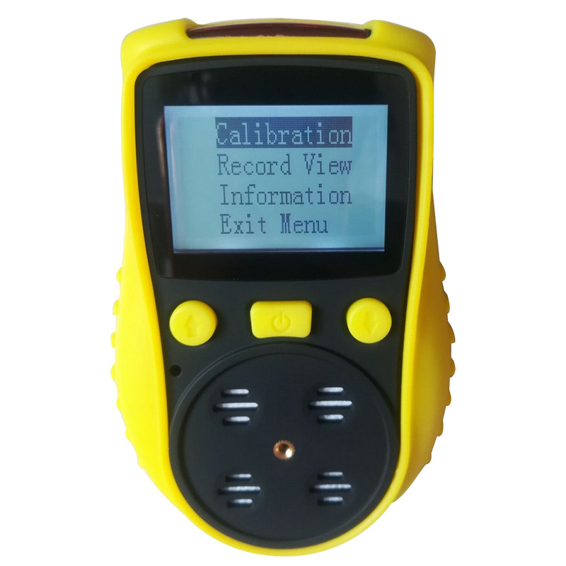 цена на 4 in 1 Gas Detector O2 H2S CO Combustible Gas Analyzer Oxygen Carbon Monoxide Gas Monitor with Alarm 2300mAH Lithium Battery