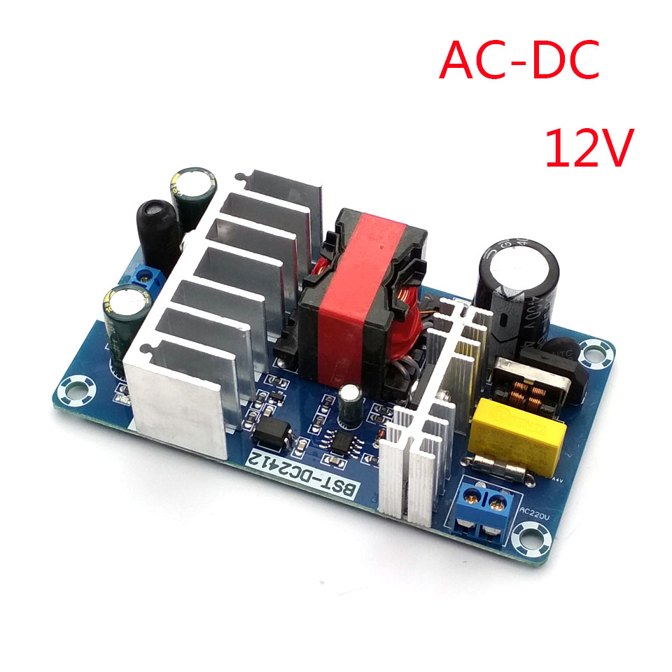 New 6a To 8a 12v Switching Power Supply Board Ac Dc Module In Circuit Replacement Parts Accessories From Consumer Electronics On Alibaba