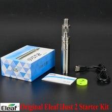 Original eleaf ijust kit 2 30 w-80 w 2600 mah batería 5.5 ml atomizador tanque 0.3ohm cigarrillo electrónico hookah vape ijust2 start kit