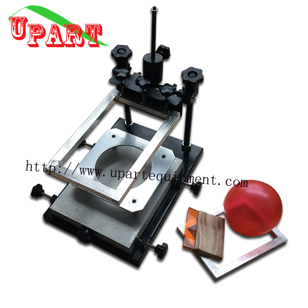 Manual Screen Printing Machine For Latex Balloons With Screen Printing Accessaries