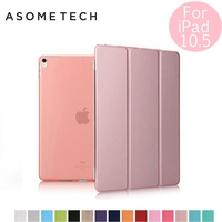 Case For IPad Pro 10 5 Inch Utra Slim PU Leather Multi Folding Magentic Cover Translucent