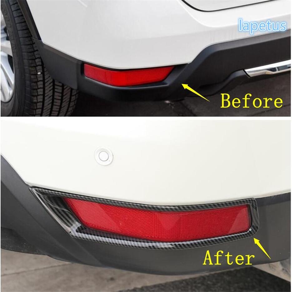 Carbon Fiber Rear Door Handle Frame Cover Trim For Nissan Teana Altima 2016 2017