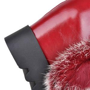 Image 2 - MORAZORA Botas de media caña para mujer, botas de nieve de poliuretano para invierno de alta calidad, zapatos de plataforma cálidos, 34 43 talla grande, 2020