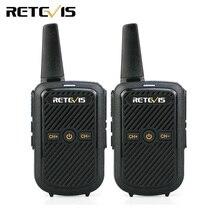 2 шт. Retevis RT15 мини-рация 2 Вт UHF 400-470 МГц 16CH CTCSS/DCS VOX скремблер двухстороннее радио USB зарядное устройство КВ трансивер