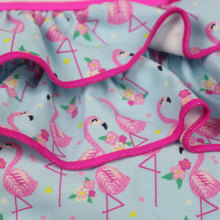 New Girl Swimwear Cute Child Bikini Kids Two Pieces Swimsuit Children Beachwear Bathing Suit Cake Print Girl Bikinis Set