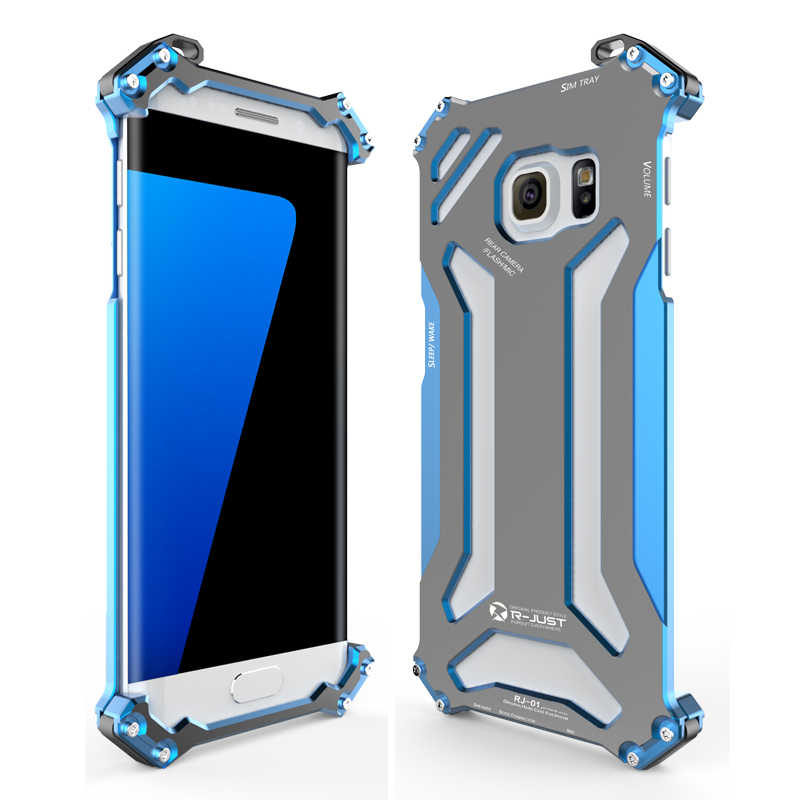 Luxury Full Aluminum Metal Case For Samsung Galaxy S7 Edge Thin Hard Shockproof Back Cover For Samsung Galaxy S7/ S7 Edge Case