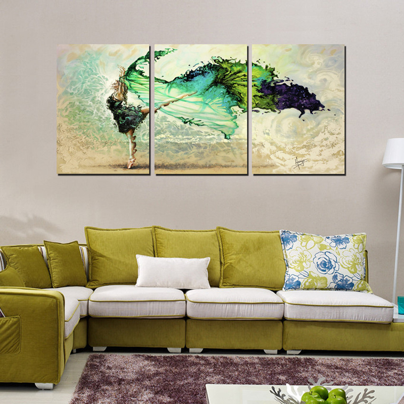 3 Piece Modern Wall Art Canvas Printed Painting Decorative