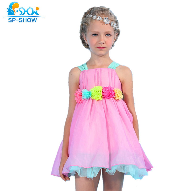 100% Cotton Girls Summer Dress For 7-15 Age Reine Des Neiges Girls Clothes Children Clothing Vestidos Infantis Robe Fille Enfant