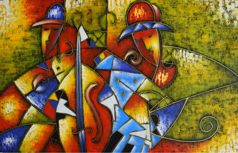 World Famous Paintings Picasso Abstract Modern Canvas